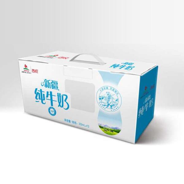 新疆西悦纯牛奶250ml