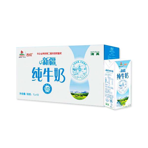 新疆西悦纯牛奶 1L